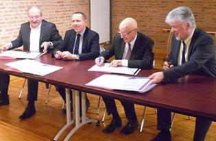 Ruralité - Signature de la convention de revitalisation du centre-bourg d'Arleux