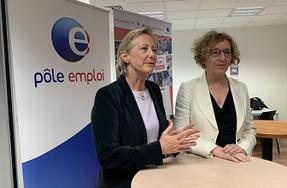 Emploi Déplacement De Muriel Pénicaud Et Sophie Cluzel à Lille