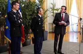 Gendarmerie Nationale Depart Du General De Division Geraud Et Du