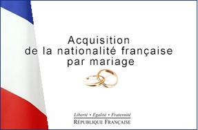 nationalite francaise mariage