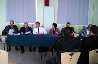 Signatures de conventions de participation pour 5 communes de l'arrondissment d'Avesnes-sur-Helpe