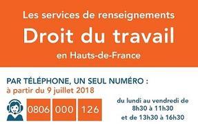 eae64a0bbb1 Un nouveau numéro de téléphone pour les renseignements en droit du travail  dans les Hauts-