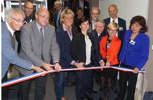 Inauguration de l'extension de l'IEMN