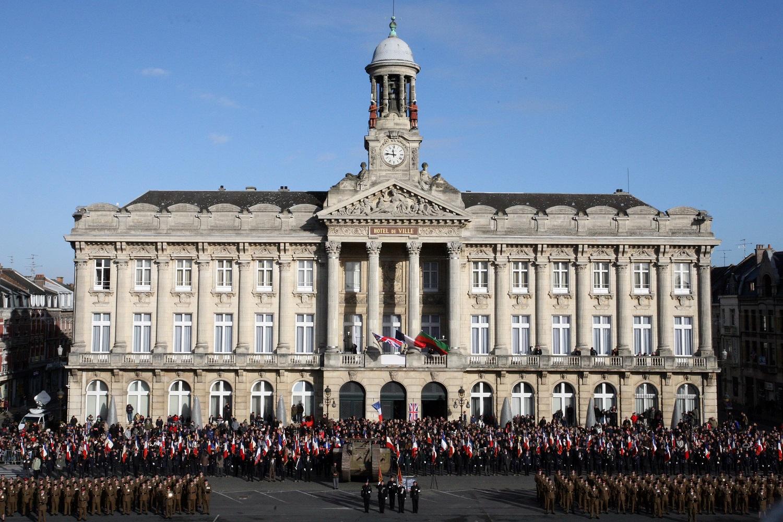 Centenaire De La Bataille Cambrai En Presence Genevieve Darrieussecq Secretaire DEtat