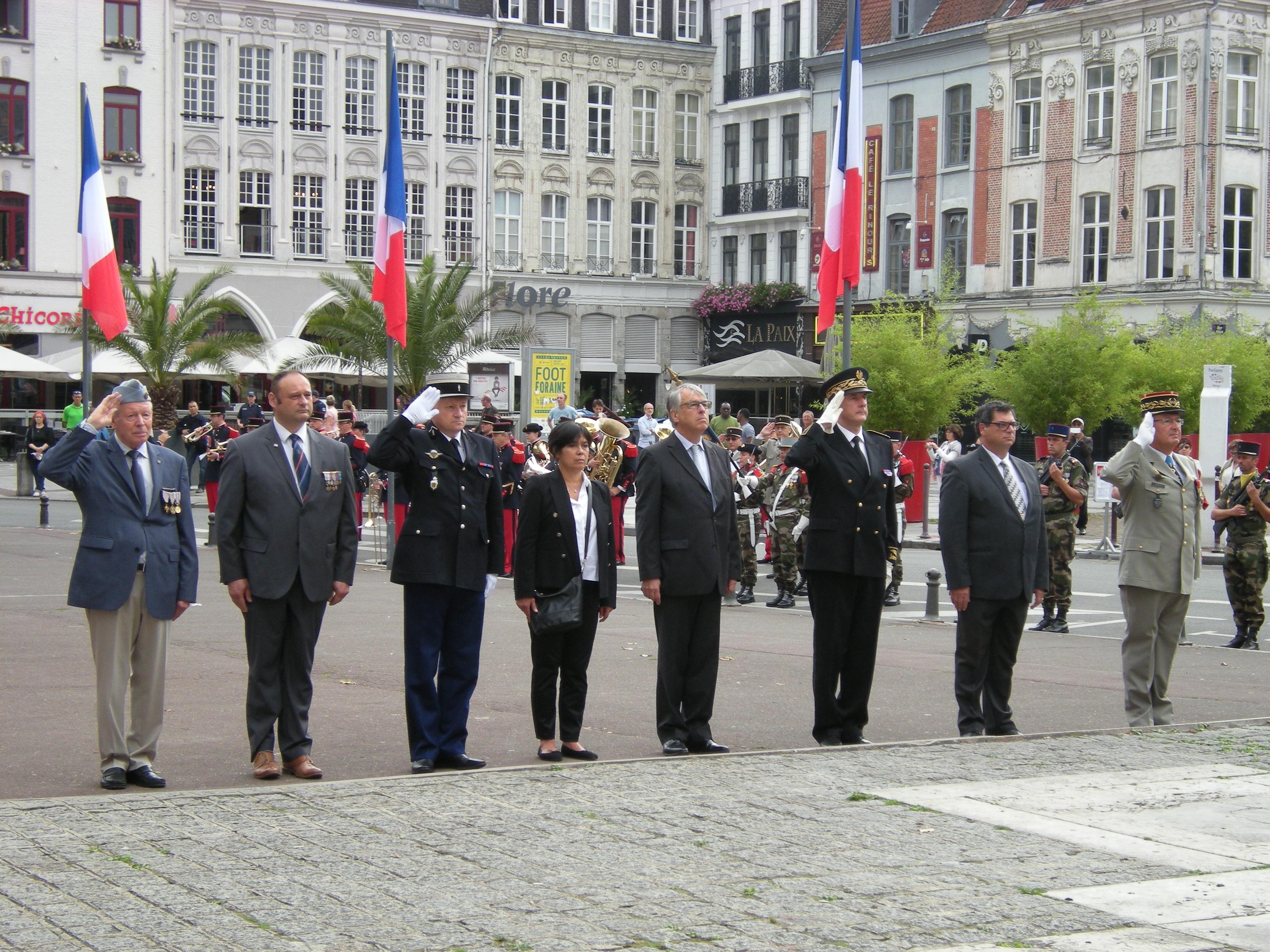 72e anniversaire de la libération de la ville de Lille dimanche