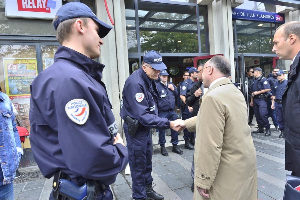 Pr paration concours officier de police lille 2 for Police nationale lille