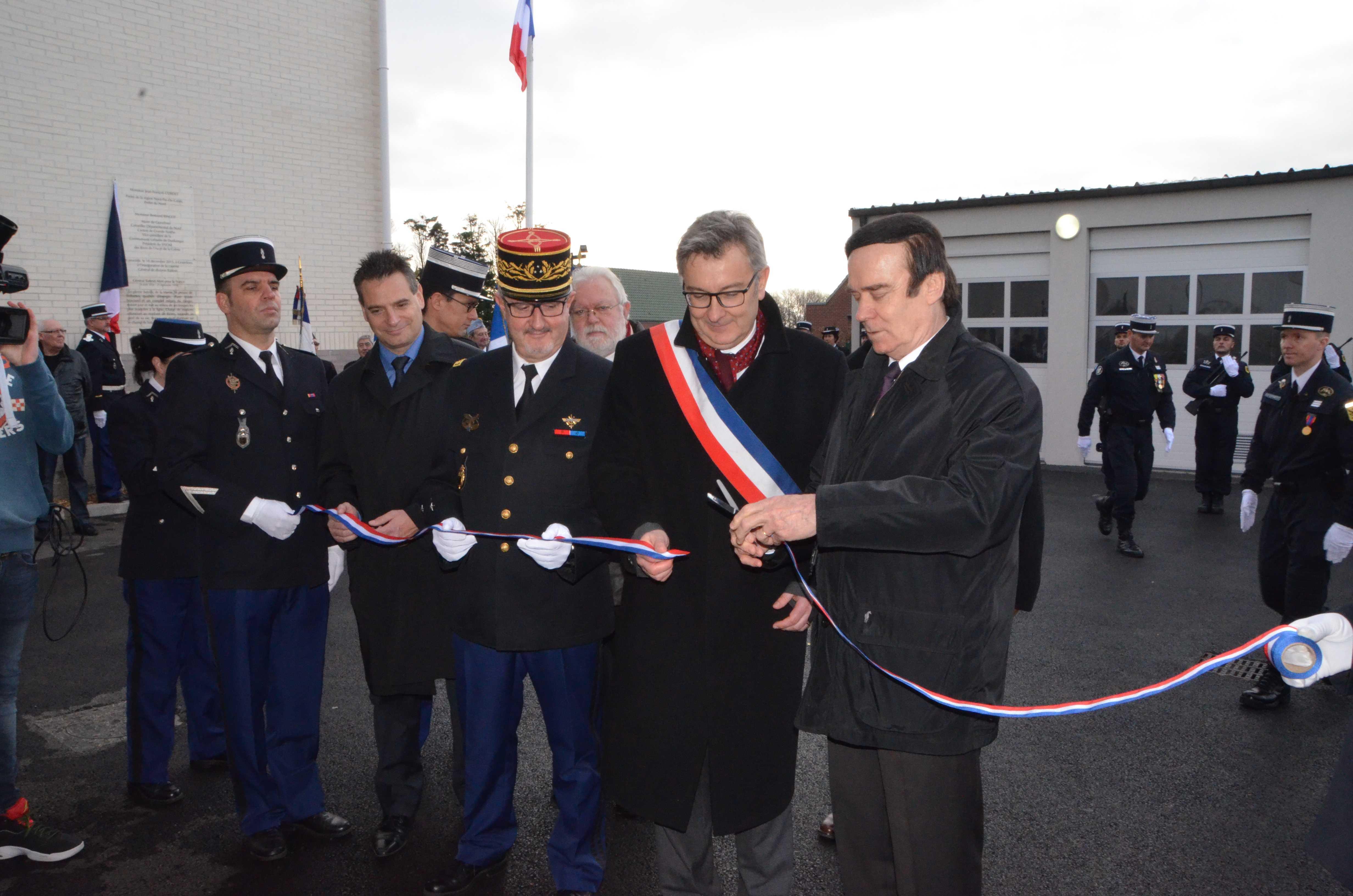 Gendarmerie nationale inauguration de la caserne de for Gendarmerie interieur gouv fr gign