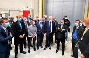 Cambrai : Inauguration des 1ers bâtiments d'E-valley, l'un des plus grands parcs logistique d'Europe