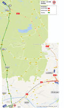 carte 5 - A2 Paris vers A23 Lille-deviation