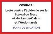 Covid-19 : lutte contre l'épidémie sur le littoral du Nord et du Pas-de-Calais et l'Audomarois