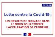 Covid-19 - mesures de freinage de l'épidémie