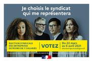 Élection syndicale TPE 2021 - Du 22 mars au 6 avril 2021