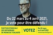 Élection syndicale TPE 2021 : le site internet d'information et de vote est lancé !