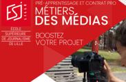 Projet de pré-apprentissage aux métiers des médias et du numérique pour les jeunes de 18 à 25 ans