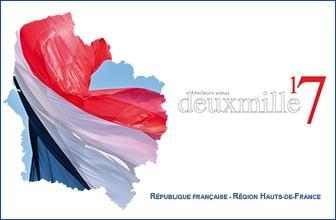 Meilleurs voeux à tous les habitants de la région Hauts-de-France